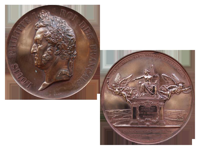 Médaille commémorative Louis-Philippe Ier roi des Français