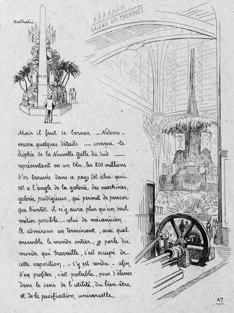 The Universal Exposition of 1878: Illustrated letter…, 1878, Bibliothèque nationale de France, department of Philosophy, history, human sciences, SMITH LESOUEF R-2315