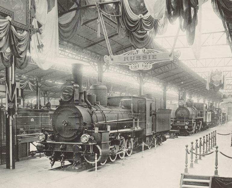 International Universal Exposition of 1900//Railways hall (annex of Bois de Vincennes). Larger, Louis, Photographer. Musée Carnavalet, Histoire de Paris, G.31685, CC0 Paris Musées/Musée Carnavalet – Histoire de Paris