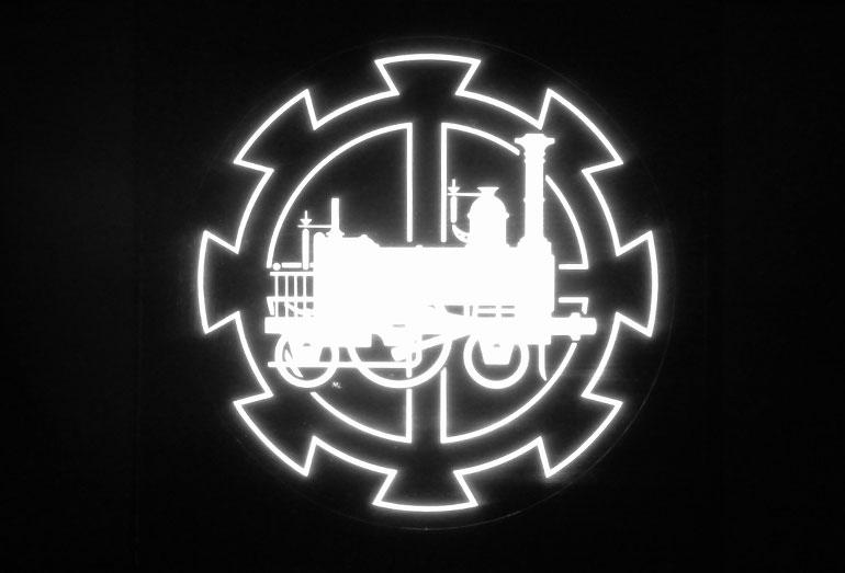 Logo of the French Railways Museum 1976, Cité du Train collection