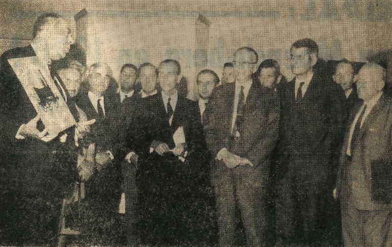 Un pas de plus vers le musée des chemins de fer de Mulhouse : l'association a été constituée, article from the newspaper l'Alsace, 15 October 1969, Cité du train collection