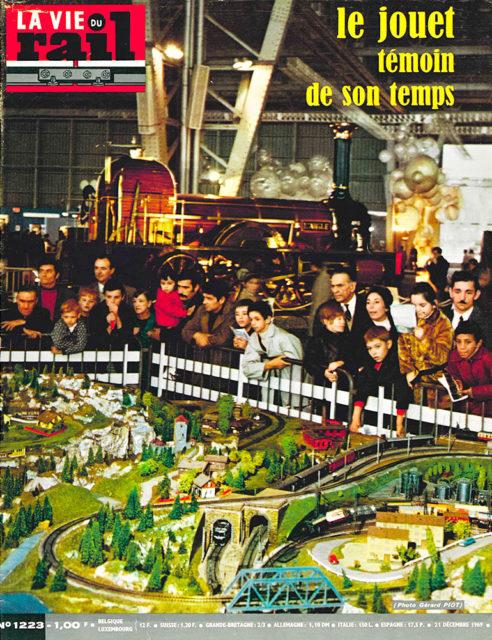 La Vie du Rail, Cover of no 1223, 21 December 1969, Cité du Train collection