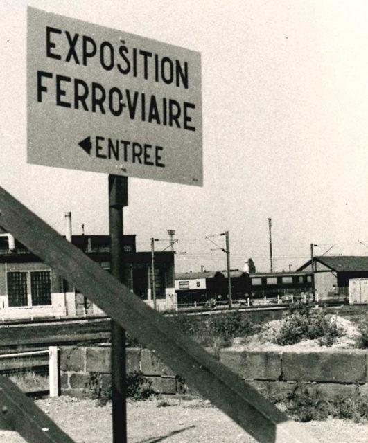 panneau exposition ferroviaire