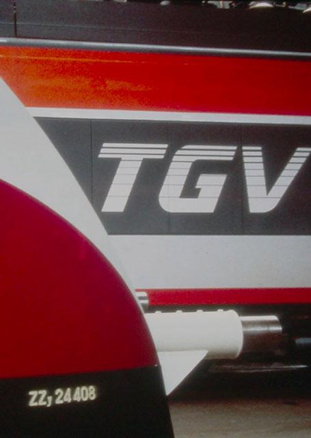 modèle TGV années 70