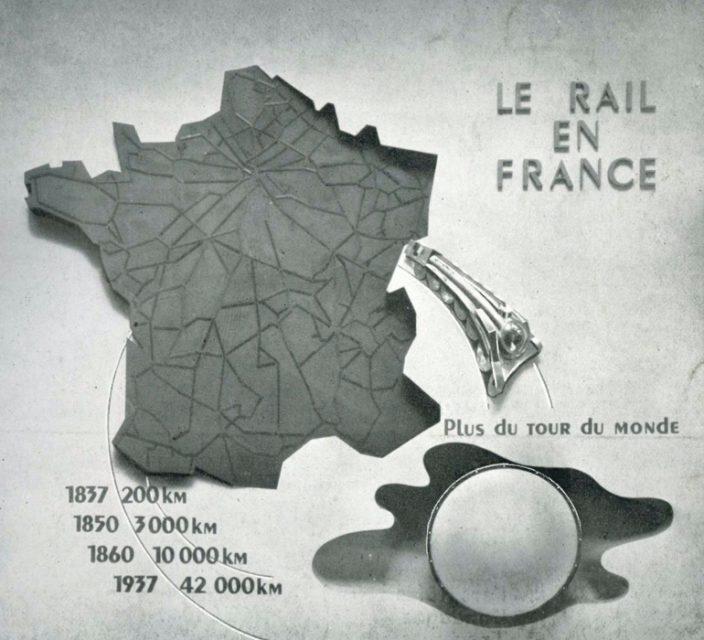 Revue RCF exposition 1937, page de garde, 1937, Collection Cité du Train