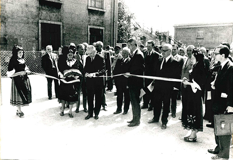 Anonymous, Official inauguration of the museum attended by Mr Ségalat, Chairman of SNCF, 3 July 1971, Cité du Train collection