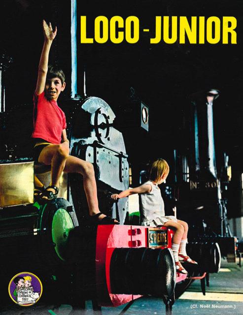 Loco Junior in La Vie du Rail no 1314, 31 October 1971, p.15, Cité du Train collection