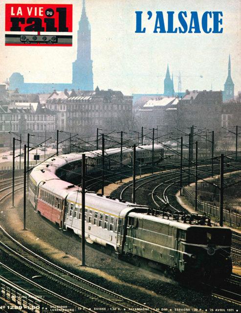 La Vie du Rail, Cover of no 1289, 26 April 1971, Cité du Train collection