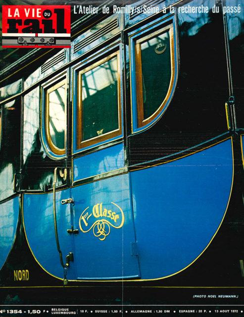 La Vie du Rail, Cover of no 1354, 13 August 1972, Cité du Train collection