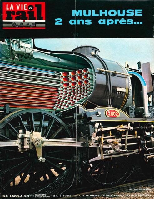 La Vie du Rail, Cover of no 1405, 26 August 1973, Cité du Train collection