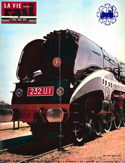 La Vie du Rail, Cover of no 1511, 5 October 1975, Cité du Train collection