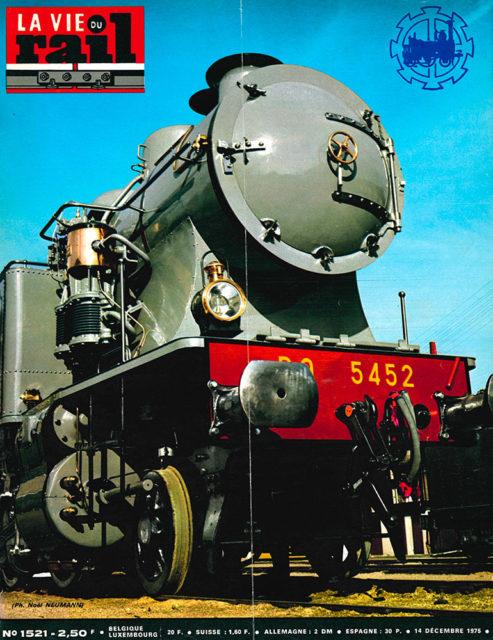 La Vie du Rail, Cover of no 1521, 14 December 1975, Cité du Train collection