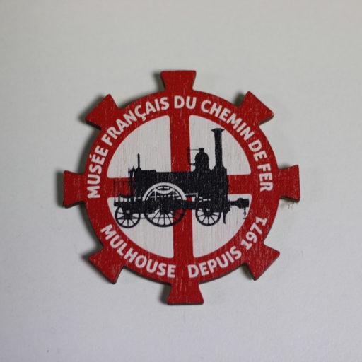 Magnet bois logo MFCF collection vintage