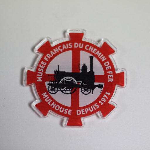 Magnet plexi logo MFCF collection vintage
