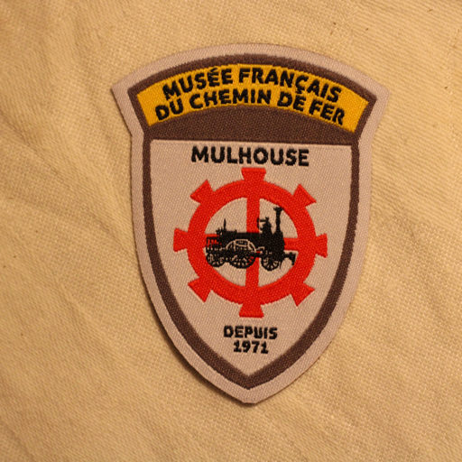 Patch thermocollant blason MFCF collection vintage