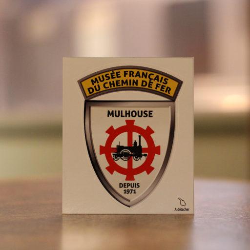 Sticker blason MFCF collection vintage