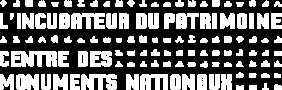 logo l'incubateur du patrimoine centre des monuments nationaux