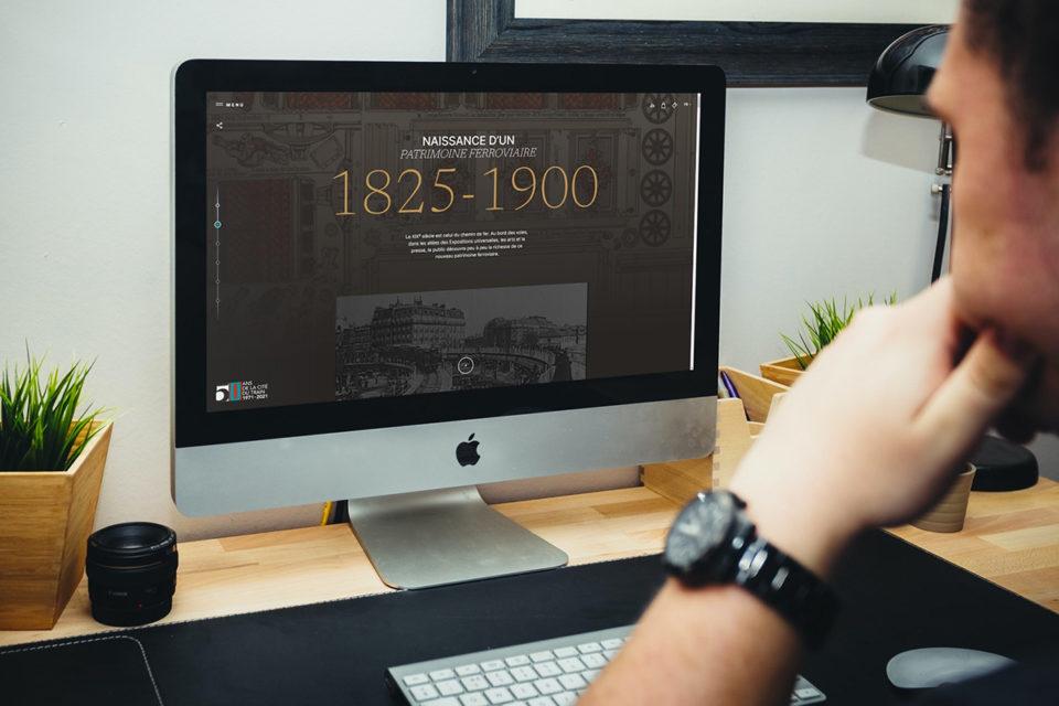 rétrospective digitale site musée du train