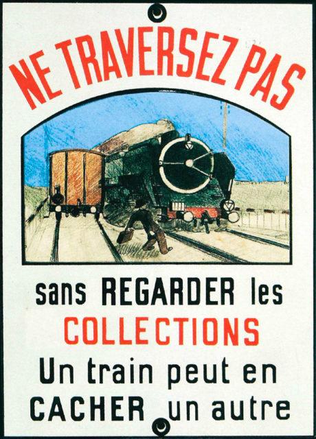 Carton d'invitation aux 25 ans du musée, 1996, Collection Cité du Train