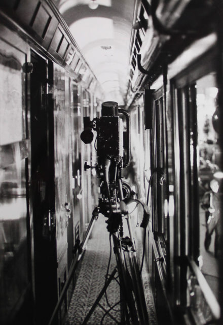 Christian Brus, Filming of the programme En... Train: Entertainment at the French Railways Museum, photographs, 23 April 1980, Cité du Train collection, stored at the Municipal Archives of Mulhouse