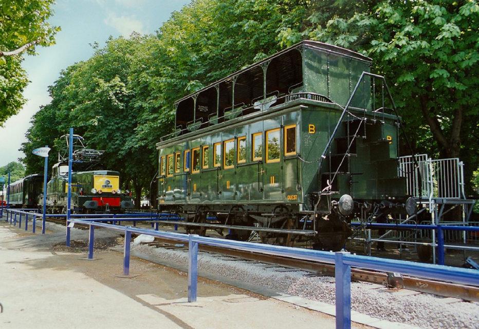 Anonyme, La voiture impériale B9 20303 exposée lors de l'événement Train Capitale, 17 mai 2003, Collection Cité du Train