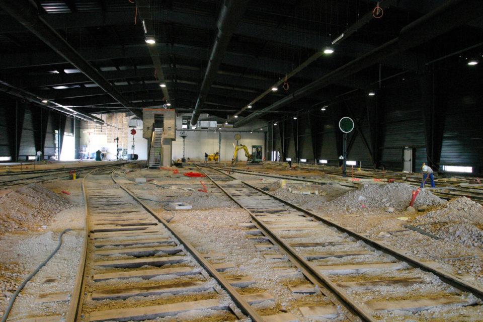Anonymous, Construction work for the new Show Tour building in the Cité du Train, photograph, 18 June 2004, Cité du Train collection