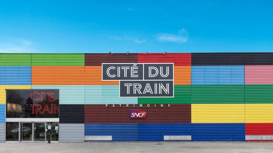 Raphaël Dautigny, Entrance to the Cité du Train, Photograph, n.d., Cité du Train collection