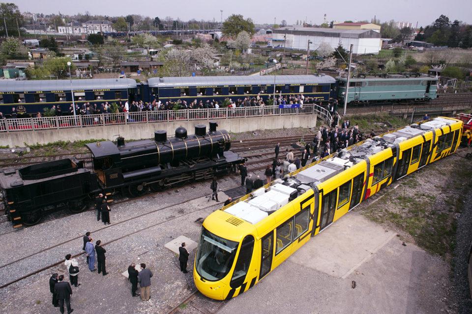 Anonymous, Inauguration of the new building in the Cité du Train, Photographs, 14 April 2005, Cité du Train collection