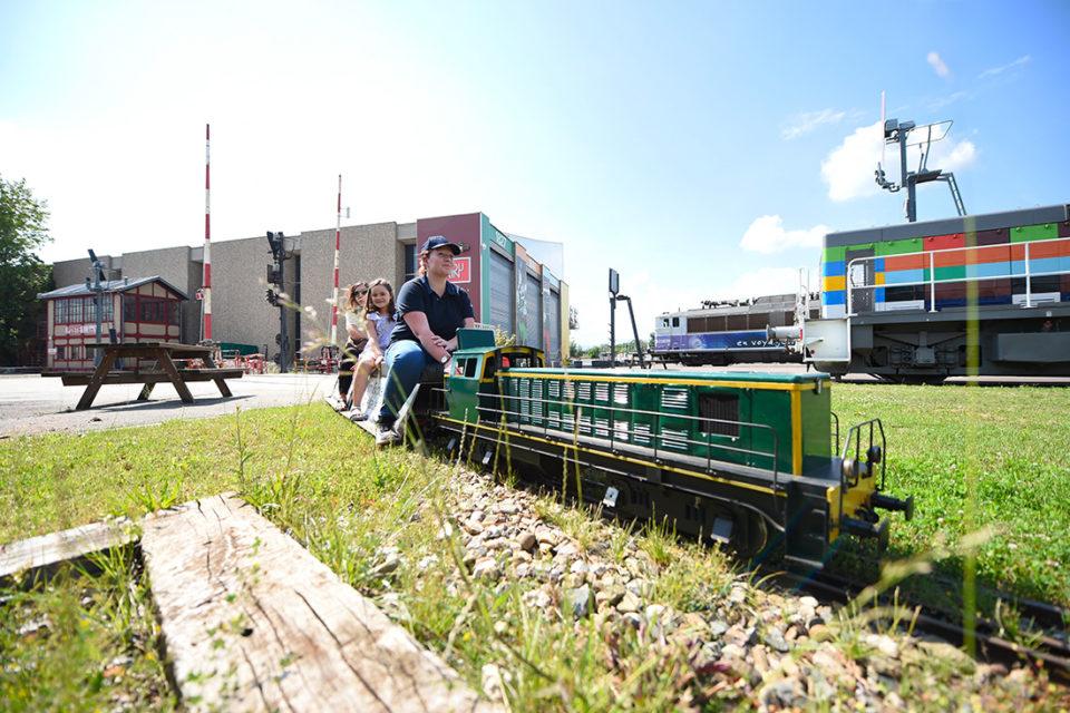 Catherine Kohler, The Mini Express of Alsace of the Cité du Train, 16 June 2018, Cité du Train collection