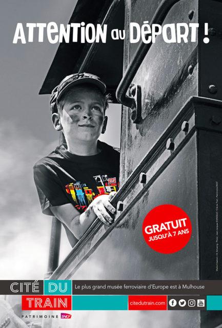 Anonymous, All aboard!, Promotional poster, 2018, Cité du Train collection